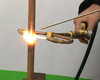 Copper brazing