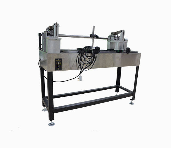 rotary quartz tube sealing system